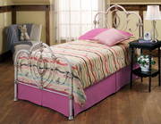 Victoria Bed Set - Twin - w/Rails - THD7690