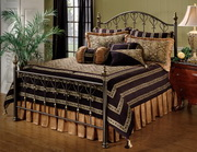 Huntley Bed Set - King - Rails not included - THD5944