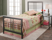 Tiburon Bed Set - Twin - w/Rails - THD7518