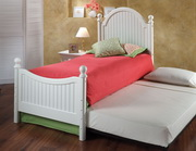Westfield Post Bed Set - Twin - w/Rails and Trundle - THD7826