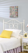 Westfield Metal Headboard - Twin - w/Rails - THD7856