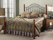 Martino Bed Set - King - w/Rails - THD6664