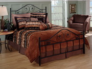Harrison Bed Set - King - Rails not included - THD5896