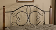 Milwaukee Wood Post Headboard - Twin - w/ Rails - THD6886