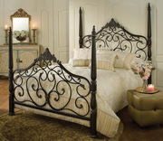Parkwood Bed Set - Queen - w/Rails - THD7090