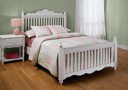 Lauren Bed Set - Full - w/Rails - THD6372