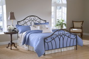 Josephine Bed Set - Full - Rails not included - THD6096