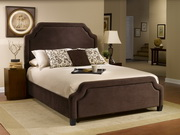 Carlyle Bed Set - Queen - w/Rails - THD5364