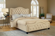Trieste Bed Set - King - w/Rails - THD7548
