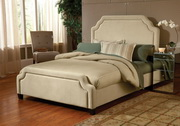 Carlyle Bed Set - Queen - w/Rails - THD5378