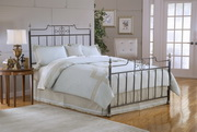Amelia Queen Bed Set w/Rails - THD4844