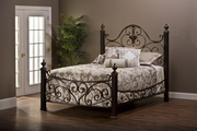 Mikelson Bed Set - King - w/Rails - THD6790