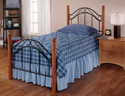 Winsloh Bed Set - Twin - w/Rails - THD7980