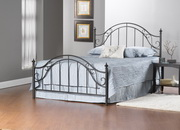 Clayton Bed Set - King - Rails not included - THD5598