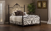 Baremore Bed Set - King - w/Rails - THD4996