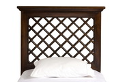 Kuri Headboard - King - Rails Included - Light Walnut Finish - THD6344