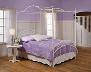 Emily Bed Set - Full - w/Rails & Canopy - THD5810