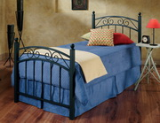 Willow Bed Set - Twin - w/Rails - THD7900