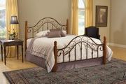 San Marco Bed Set - King - Rails not included - THD7318