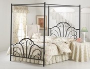 Dover Bed Set - Queen - w/Canopy and Legs - Rails not included - THD5736