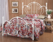 Cherie Bed Set - Queen - w/Rails - THD5532