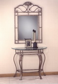 Bordeaux Console Table (mirror not included) - THD3834