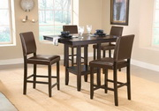 Arcadia 5-Piece Counter Height Dining Set w/Parson Stool - THD3774