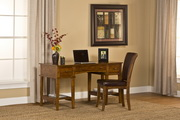 Gresham Desk and Chair - Medium Oak - THD4104