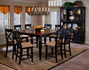 Northern Heights 9-Piece Counter Height Dining Set - THD4356