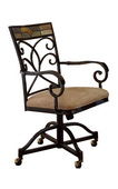 Pompeii Caster Dining Chairs - Set of 2 - THD4548