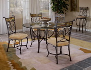 Pompeii 5-Piece Dining Set w/Chairs - THD4552
