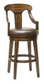 30.5in Hillsdale Swivel Bar Stool - THD3286