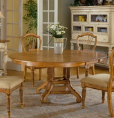Wilshire Round/Oval Dining Table - THD4716