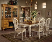 7-Piece Rectangle Dining Set w/Side Chairs - THD4740