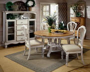 5-Piece Round Dining Set w/Side Chairs - THD4744