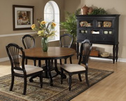 7-Piece Round Dining Set w/Side Chairs - THD4760