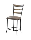 Charleston Ladder Back Non-Swivel Stool Set of 2 - THD3976