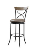 26in Hillsdale Swivel X-Back Counter Stool - THD2995