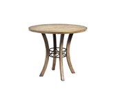 Charleston Round Wood Counter Height Table - THD3978