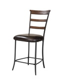 Cameron Ladder Back Non-Swivel Stool - Set of 2 - THD3912