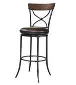 26in Hillsdale Swivel X-Back Counter Stool - THD2974