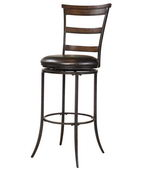 30in Hillsdale  Ladderback Swivel Barstool - THD2989