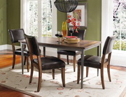 Cameron 5-Piece Rectangle Dining Set w/Parson Chairs - THD3944