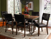 Cameron 7-Piece Rectangle Dining Set w/Parson Chairs - THD3946
