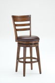 30.5in Hillsdale Swivel Bar Stool - Ladder Back - THD3304