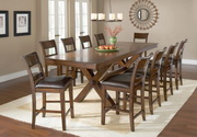 Park Avenue 11-Piece Counter Height Dining Set - THD4416