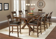 Park Avenue 9-Piece Counter Height Dining Set - THD4420