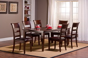 Park Avenue 7pc Dining Set with Leg Table - THD4430