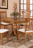 Bayberry Round Table - Oak - THD3794