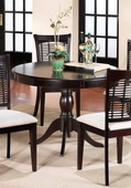 Bayberry Round Table - Dark Cherry - THD3810